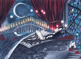 Sleeping Beauty I by FireflyGhost