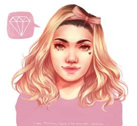 Happy Birthday Marina! by Matchaa