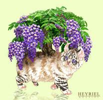 Wisteria Munchkit by Heyriel