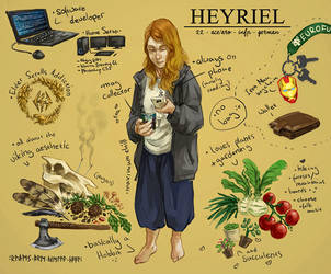 Meet the Artist by Heyriel