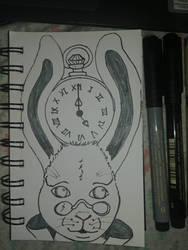 Inktober 14 Clock by MaggieRaven