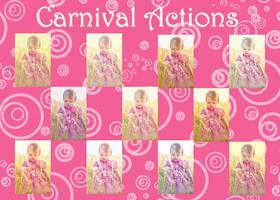 Carnival action sets by chupla