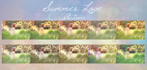 Summer Love Action set 1 by chupla
