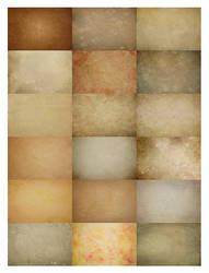 Vintage-ish Texture set 1 by chupla