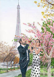 Paris (2018) - Commission by LaGelfling