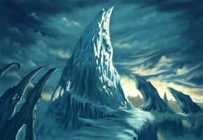 Near Icecrown by Dellot