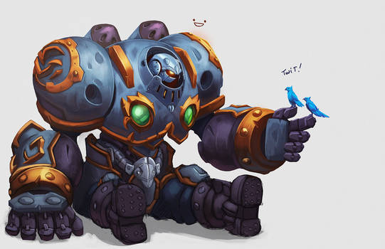 Battle Chasers - Calibretto by Keilink