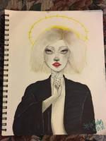 Half time Priestess  by yo-sociopath