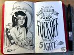 Ink drawing by yo-sociopath