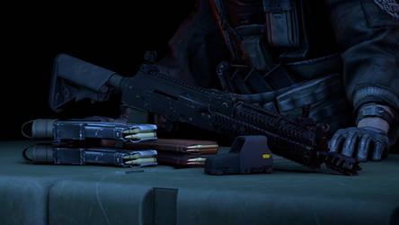 AK 105 Alpha mods by Pr0metheus-RF