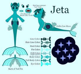 Jeta Ref Sheet by TheFoxern