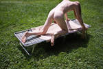 Tanning Outtake by zharth