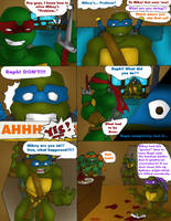 Raph Completely Lost It... by R2ninjaturtle