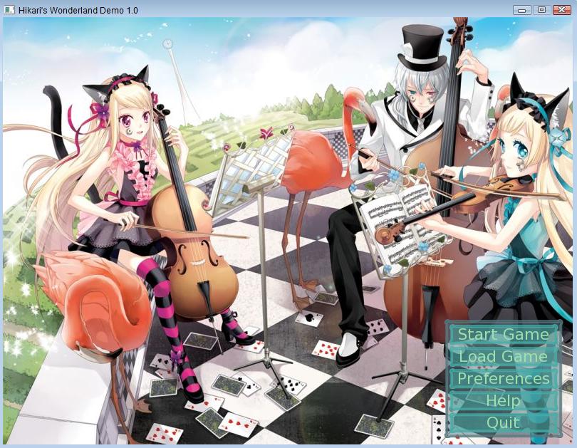 Hikari's Wonderland Demo 0.1.0 (PT-Br) by TodayIDie