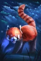 Happy Red Panda! :D by sven-werren