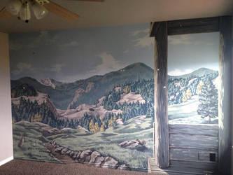 Mountain cabin by MichaelBeenenga