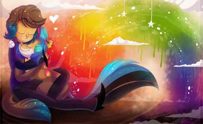 Rainbow Romance by Roxalew