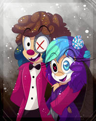 Villain party by Roxalew