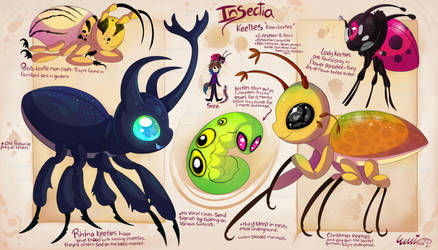 Insectia- Keetles by Roxalew