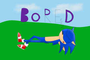 sonic geting bored... by orze