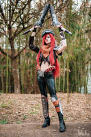 Miss Fortune Road Warrior - League of Legends by Zelda74
