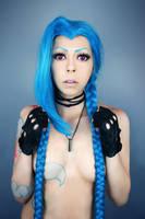 Sexy Jinx Cosplay by AliChaiCosplay