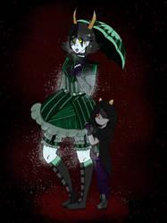 Goth-Lolita homestuck mum by ArtistsClique