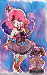 Connie watercolor :3 by ArtistsClique