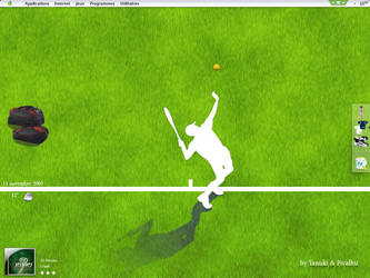 Tennis , The desk by t4nuki