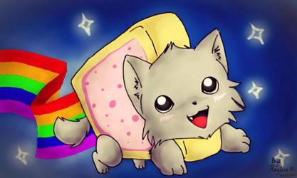 Its Nyan cattt!!! by BlueStarCat