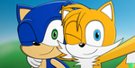 Sonic and Tails by Xtianzarts