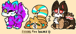 [ADOPT] Fennec babies 2/3 (OPEN) by Bearonia