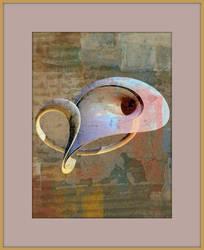 settled blue orb by fractalhead