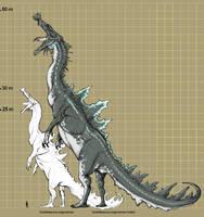 Godzillasaurus angiuruensis by Rodrigo-Vega