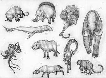 Mammals by Rodrigo-Vega