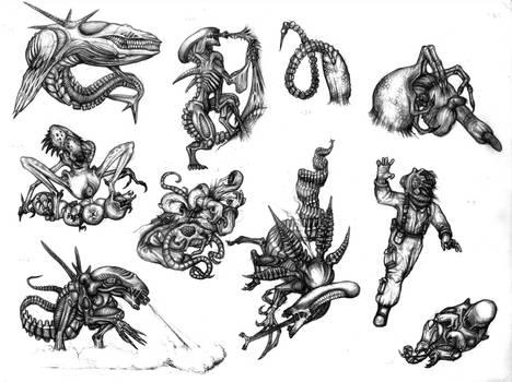 Aliens tribute by Rodrigo-Vega