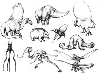 Fantastic fauna II by Rodrigo-Vega