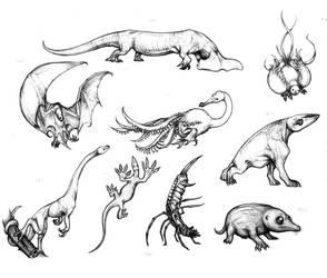 Fantastic fauna III by Rodrigo-Vega