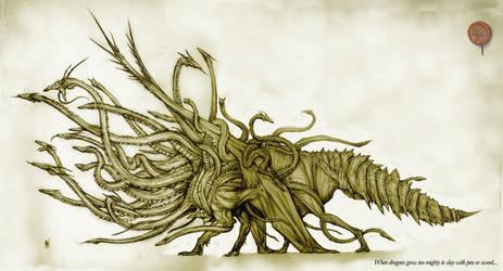 Centocephalic Dragon by Rodrigo-Vega