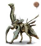 M.C. Barret tribute creature by Rodrigo-Vega