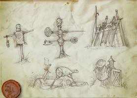 Fighter's Guild Props by Rodrigo-Vega