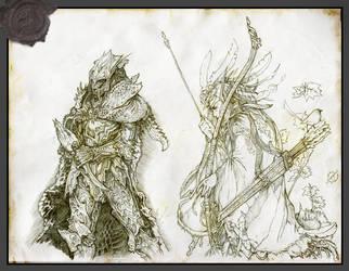 Elves by Rodrigo-Vega