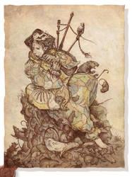 The Pied Piper by Rodrigo-Vega