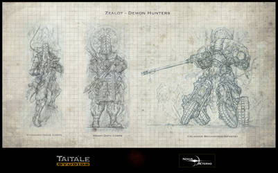 Zealot Demon Hunters by Rodrigo-Vega