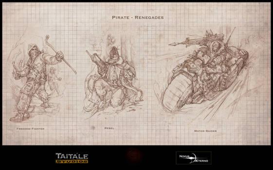 Pirate Renegades by Rodrigo-Vega