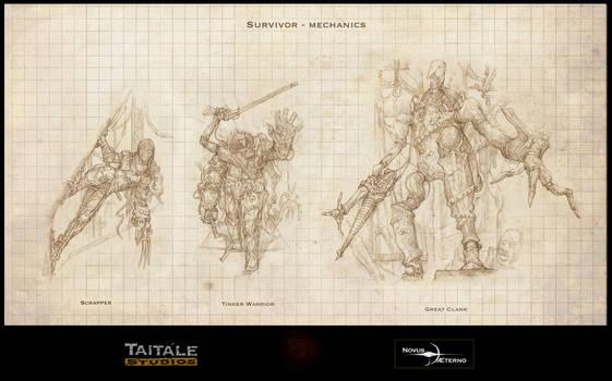 Survivor Mechanics by Rodrigo-Vega