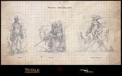 Pirate Smugglers by Rodrigo-Vega