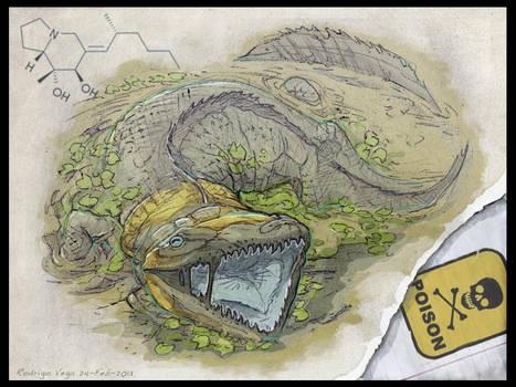 Venomous Ichthyostegidae by Rodrigo-Vega
