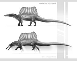 Spinosaurs Aegyptiacus 2014 by Rodrigo-Vega