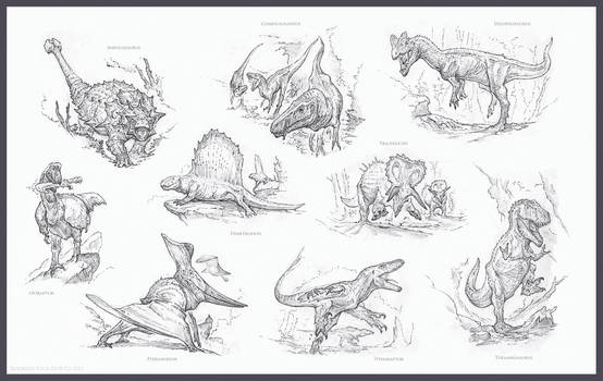 Chronomancer's Dinosaurs by Rodrigo-Vega